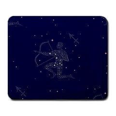 Sagittarius Stars Large Mousepad from ArtsNow.com Front