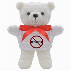 No Whining Teddy Bear from ArtsNow.com Front