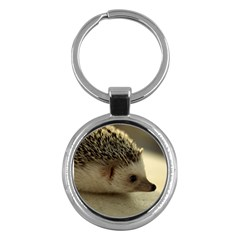 Standard Hedgehog II Key Chain (Round) from ArtsNow.com Front