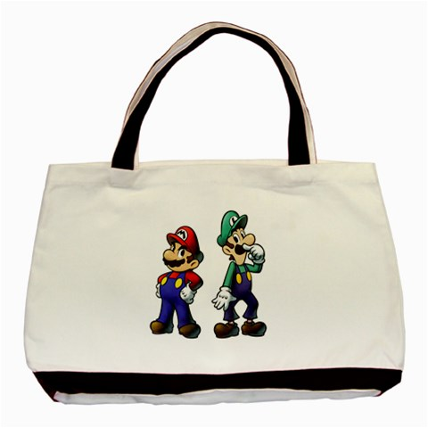 Carson's Collectibles Classic Tote Bag (2-Sided) of Super Mario and Luigi Portrait (Super Mario Bros.) at Sears.com