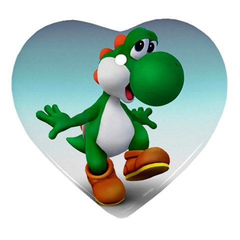 Carson's Collectibles Heart Ornament (2-Sided) of Yoshi Happy at Sears.com
