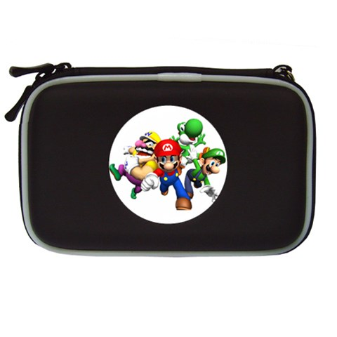 Carson's Collectibles Nintendo DS Lite Black Carrying Case of Super Mario Bros. Mario and Luigi Wario and Yoshi at Sears.com