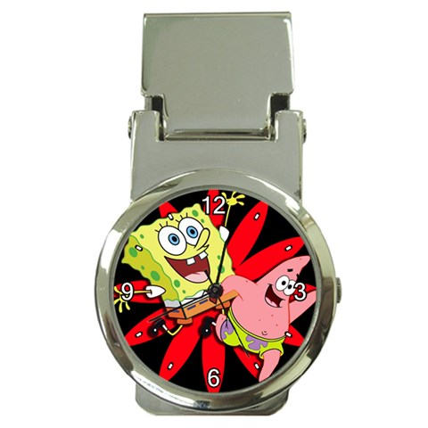 Carson's Collectibles Money Clip Watch of Spongebob Squarepants and Patrick Star Jumping (Sponge Bob Square Pants - Starfish) at Sears.com