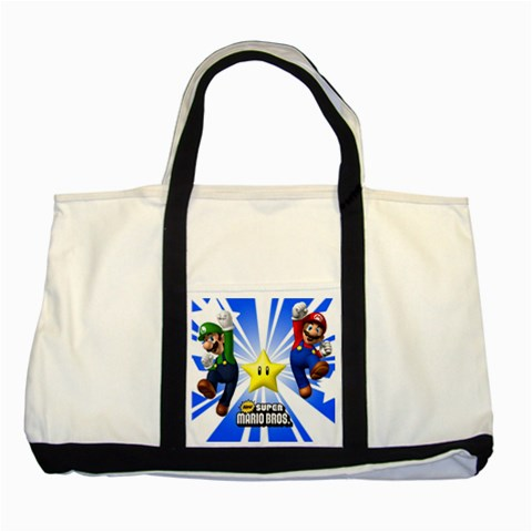 Carson's Collectibles Two Tone Tote Bag of Super Mario and Luigi New (Super Mario Bros.) at Sears.com