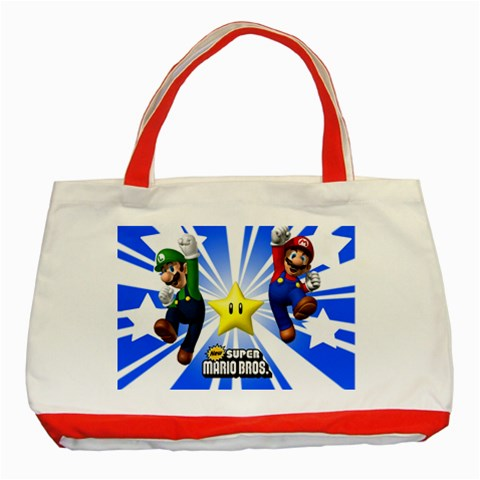 Carson's Collectibles Classic Tote Bag Red of Super Mario and Luigi New (Super Mario Bros.) at Sears.com
