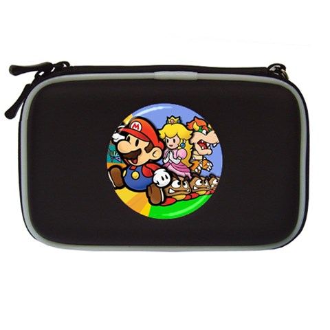 Carson's Collectibles Nintendo DS Lite Black Carrying Case of Super Mario Bros. with Princess Peach and Bowser at Sears.com