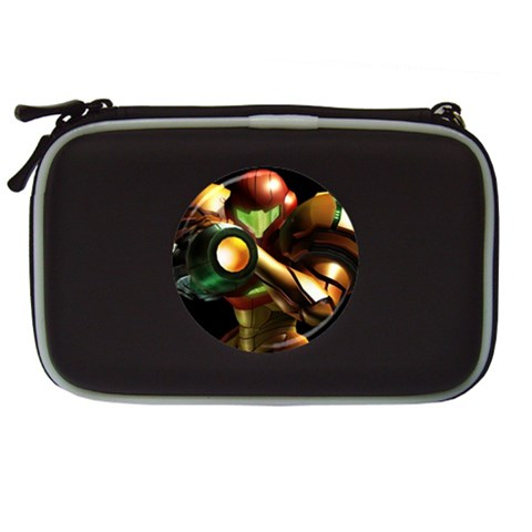 Carson's Collectibles Nintendo DS Lite Black Carrying Case of Metroid Samus Raising Weapon at Sears.com