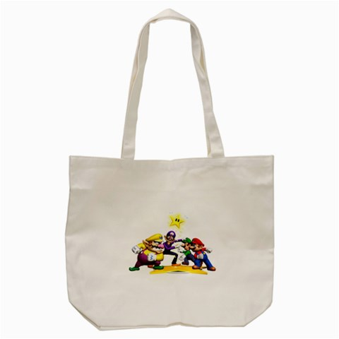 Carson's Collectibles Tote Satchel Bag (2-Sided) of Super Mario Bros. Mario and Luigi & Wario and Waluigi Showdown at Sears.com