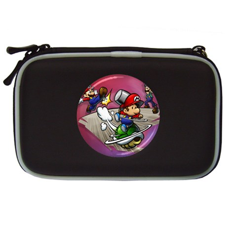 Carson's Collectibles Nintendo DS Lite Black Carrying Case of Super Mario Bros. Mario and Luigi Shell Attack at Sears.com