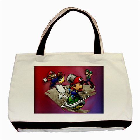 Carson's Collectibles Classic Tote Bag (2-Sided) of Super Mario Bros. Mario and Luigi Shell Attack at Sears.com