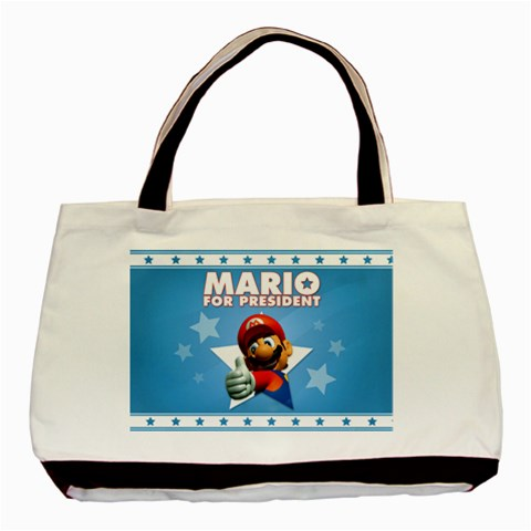 Carson's Collectibles Classic Tote Bag (2-Sided) of Super Mario Bros. Mario for President at Sears.com