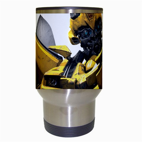 Carson's Collectibles Travel Coffee Drink Mug of Transformers Bumblebee Head Shot at Sears.com