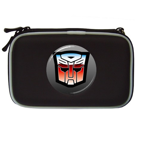Carson's Collectibles Nintendo DS Lite Black Carrying Case of Transformers Vintage Autobot Logo with Black Border at Sears.com