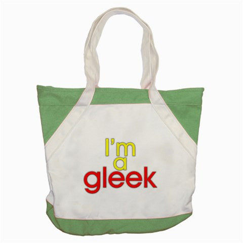 Carson's Collectibles Accent Tote Bag Green of I'm A Gleek (from Glee TV Show) at Sears.com