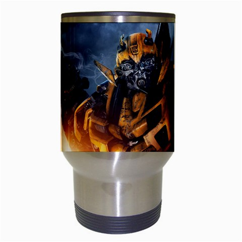 Carson's Collectibles Travel Coffee Drink Mug of Transformers Bumblebee with Smoking Gun at Sears.com