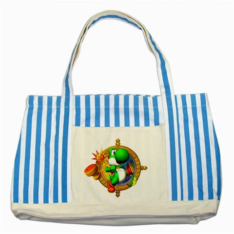 Carson's Collectibles Striped Blue Tote Bag of Yoshi from Mario Party at Sears.com