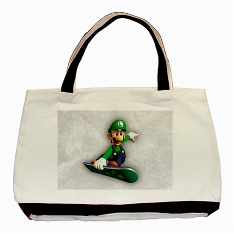 Carson's Collectibles Classic Tote Bag (2-Sided) of Super Mario Bros. Luigi on Flyboard (Snowboard) at Sears.com
