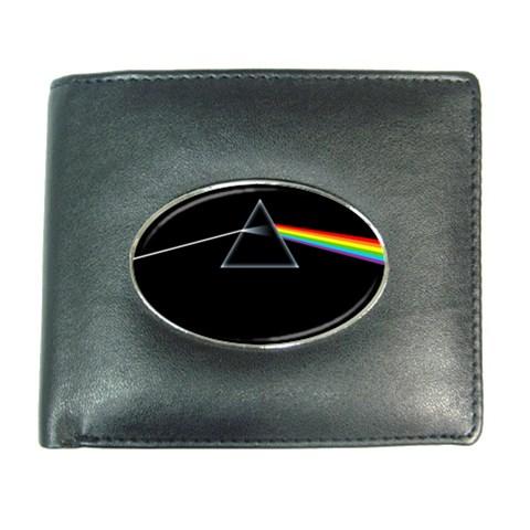 Pink Floyd Dark Side of The Moon Mens Leather Wallet C