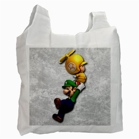 Carson's Collectibles Recycle Bag (2-Sided) of Super Mario Bros. Luigi Flying with Toad at Sears.com