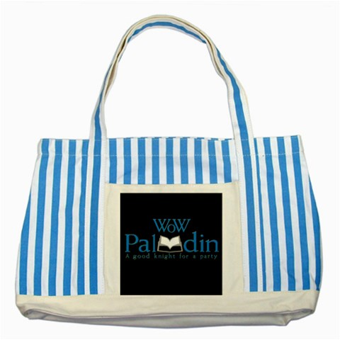 Carson's Collectibles Striped Blue Tote Bag of World of Warcraft (WoW) Paladin Class at Sears.com