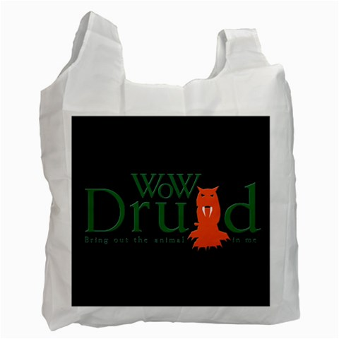 Carson's Collectibles Recycle Bag (2-Sided) of World of Warcraft (WoW) Druid Class at Sears.com