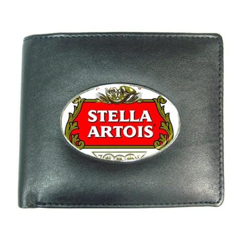 stella artois beer credit card money holder leather wallet for men women hot ebay. Black Bedroom Furniture Sets. Home Design Ideas