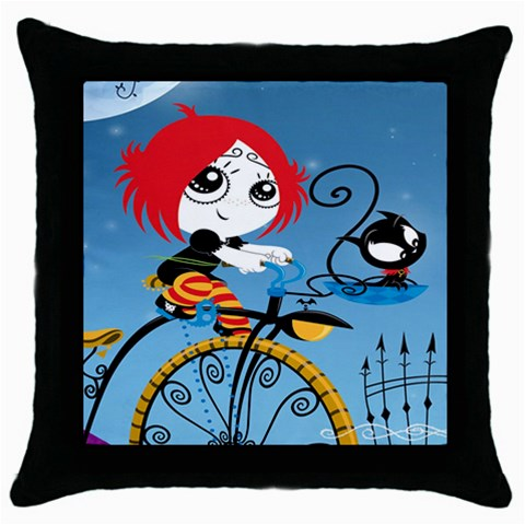 Ruby Gloom Throw Pillow Case Black For Living Bed Room