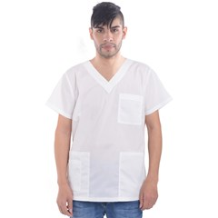 Men s V-Neck Scrub Top