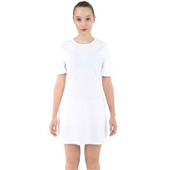 Sixties Short Sleeve Mini Dress