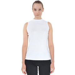 Mock Neck Shell Top