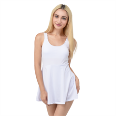 Skater Dress Swimsuit