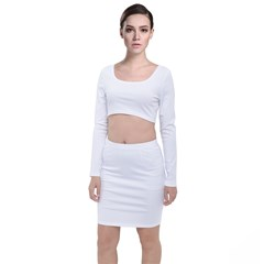 Long Sleeve Crop Top & Bodycon Skirt Set