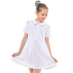 Kids  Short Sleeve Shirt Dress