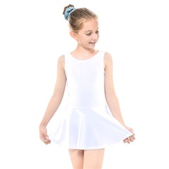 Kids  Skater Dress Swimsuit