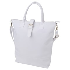 Buckle Top Tote Bag