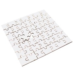 Wooden Puzzle Square