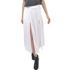 Velour Split Maxi Skirt