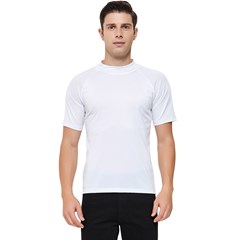 Men s Short Sleeve Rash Guard