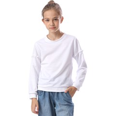 Kids  Long Sleeve Tee with Frill