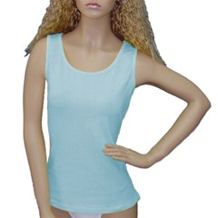 Women s Baby Blue Tank Top