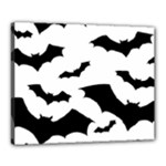 Deathrock Bats Canvas 20  x 16  (Stretched)
