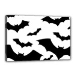 Deathrock Bats Canvas 18  x 12  (Stretched)