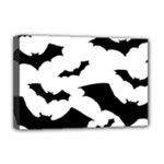 Deathrock Bats Deluxe Canvas 18  x 12  (Stretched)