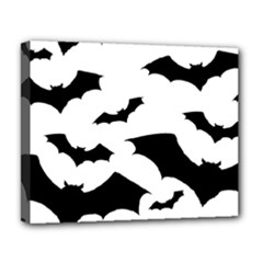 Deathrock Bats Deluxe Canvas 20  x 16  (Stretched) from ArtsNow.com