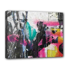Graffiti Grunge Canvas 14  x 11  (Stretched) from ArtsNow.com
