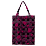 Harts pattern Classic Tote Bag