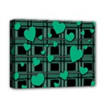 Green love Deluxe Canvas 14  x 11