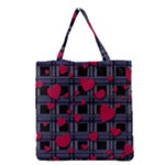 Decorative love Grocery Tote Bag