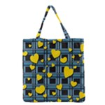 Love design Grocery Tote Bag