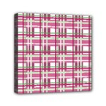 Pink plaid pattern Mini Canvas 6  x 6